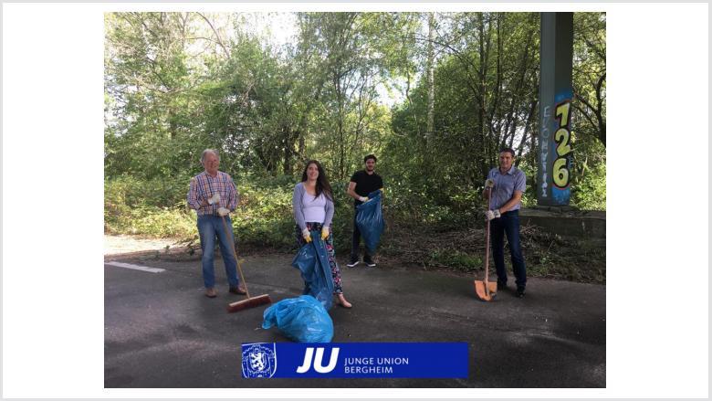 Dreck-Weg-Tag 2020 - JU Bergheim