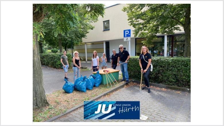 Dreck-Weg-Tag 2020 - JU Hürth